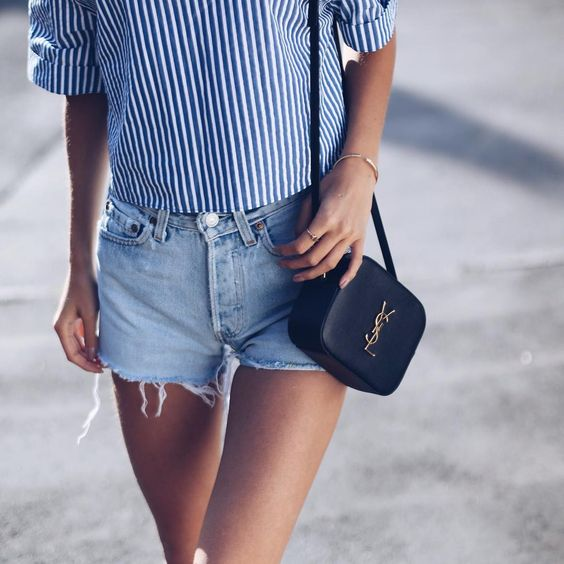 Women Shorts Outfit Ideas 2018 (19)