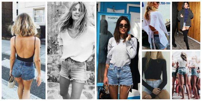 Women Shorts Outfit Ideas 2018 (40)