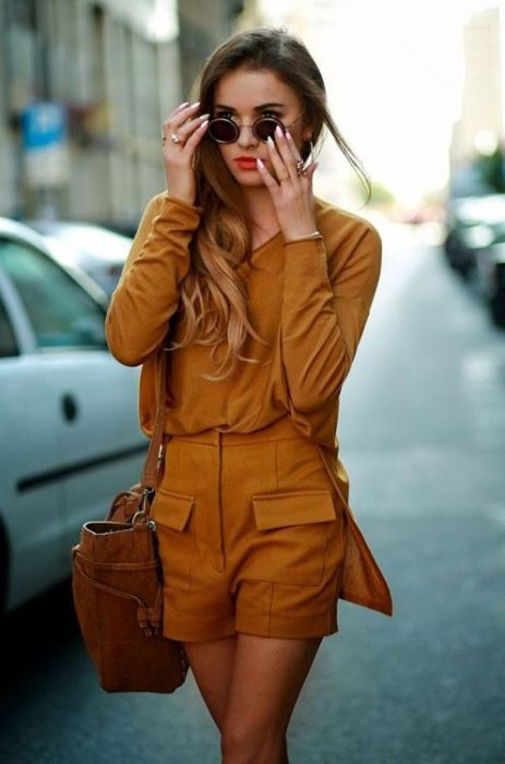 Women Shorts Outfit Ideas 2018 (46)
