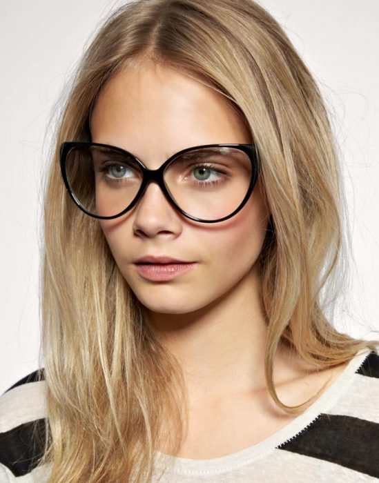 in love with these oversized cat eye frames - Womens Eyeglasses Frames