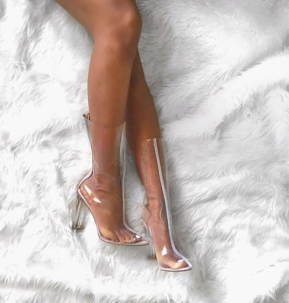 See-Through Shoes Fashion Trend Is Back 2020