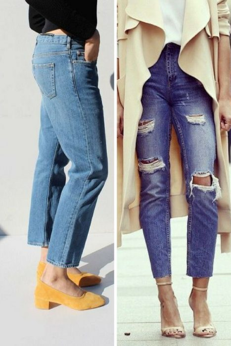 cropped jeans street style (2)