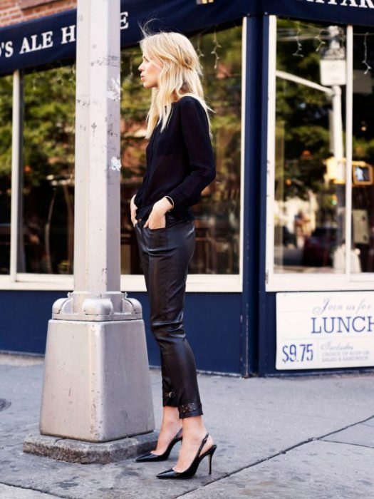 How To Wear Leather Pants 2019