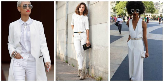 All White Outfits For Women 2018 (13)