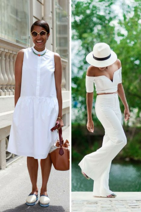 All white outfit ideas for women summer 2018 street style all white outfits for women 2018 4 urmus Image collections