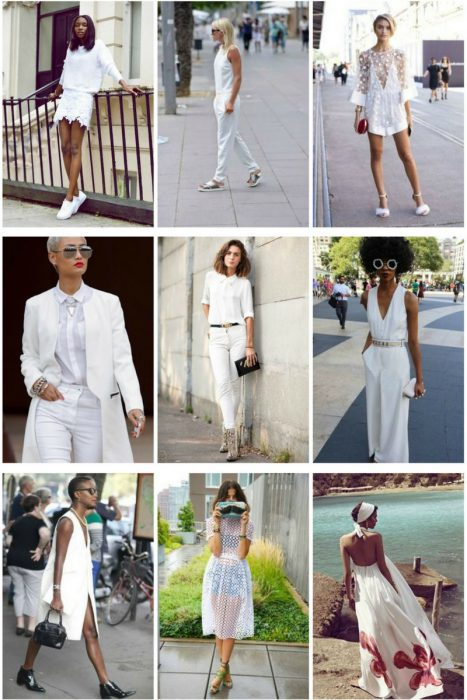 All White Outfits For Women 2018 (5)