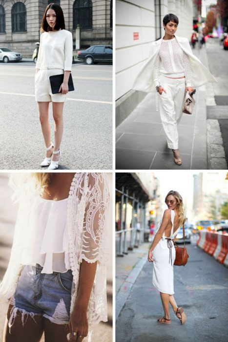 All White Outfits For Women 2018 (7)