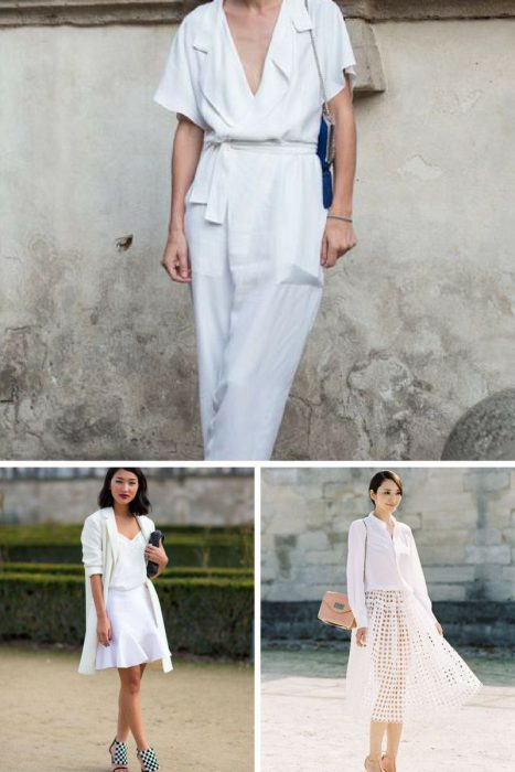 Summer All White Outfit Ideas For Women 2019