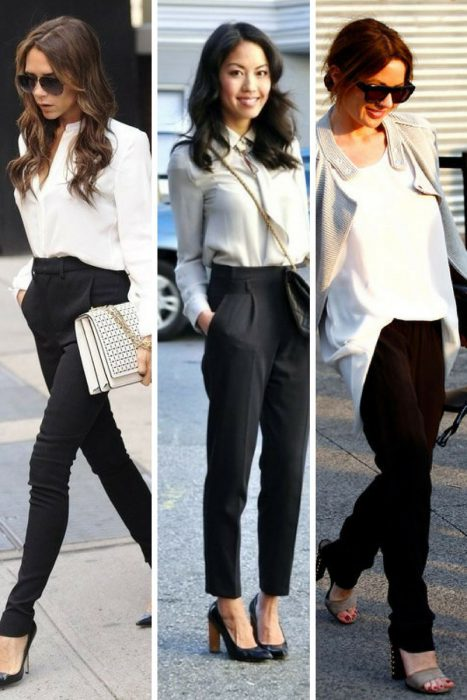 Black Trousers For Office 2018 (6)