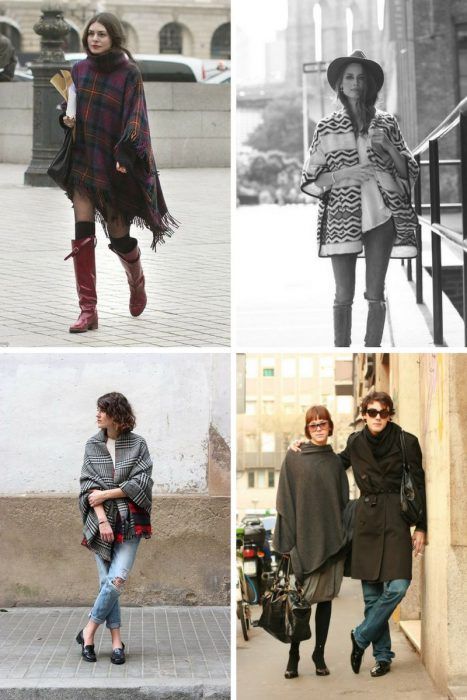 Blankets, Ponchos, Capes Are Back On The Streets 2019