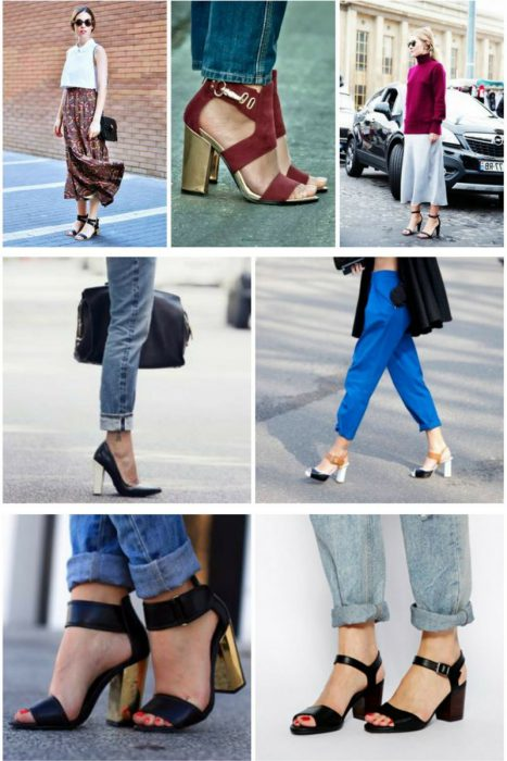 Block Heel Sandals Will Improve Your Style 2019