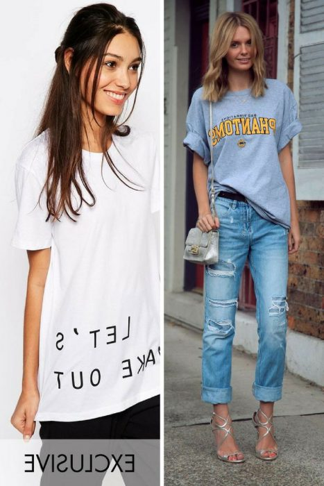 Best Ways How To Wear Boyfriend T-shirts 2019