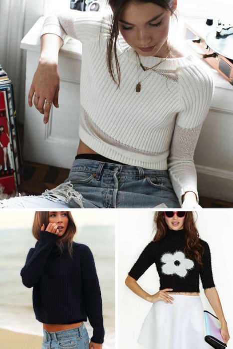 How To Wear Cropped Sweater This Winter 2019