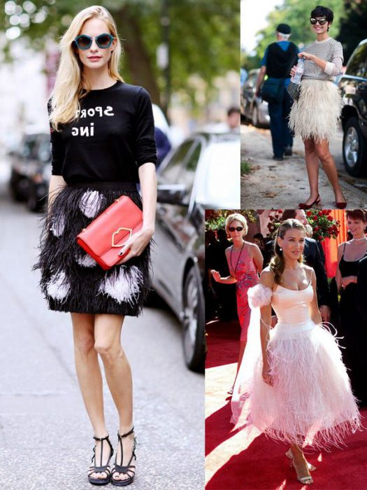 How To Wear Feathers Trend 2020
