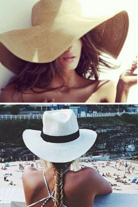 Nude Summer Hats from Fedoras To Floppy Hats 2020