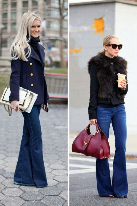 Bring Back 1970's With Flared Jeans Trend 2020