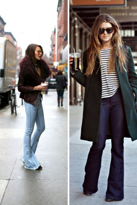 Bring Back 1970's With Flared Jeans Trend 2019