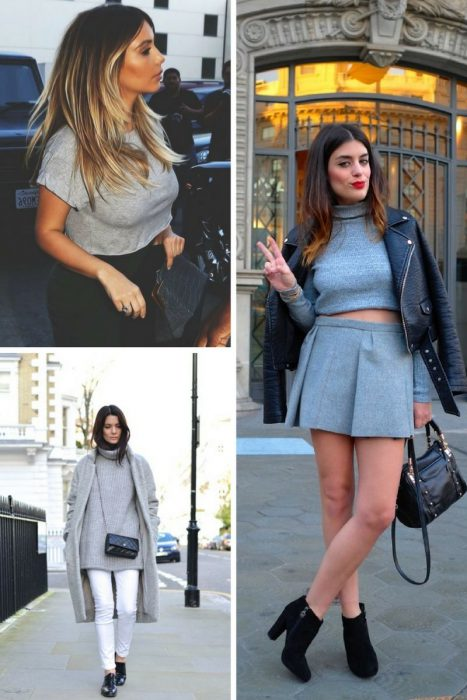 Gray Color Outfit Ideas For Women 2020