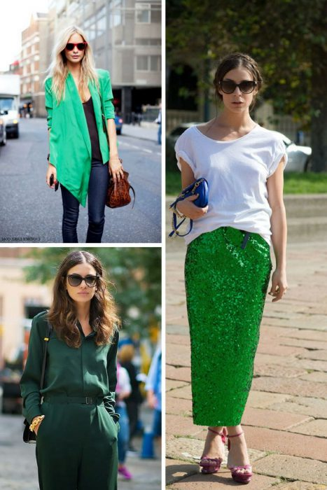 Green Clothing Outfit Ideas For Women 2019