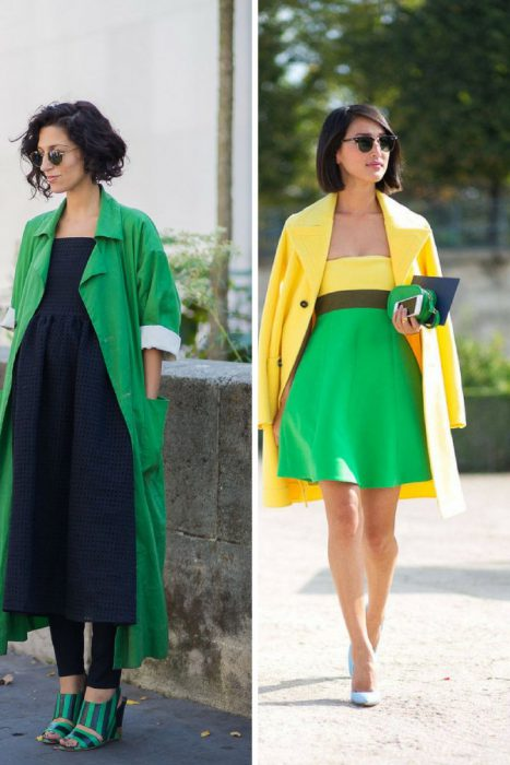 Green Color Clothes For Women 2018 (10)