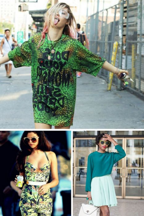 Green Color Clothes For Women 2018 (12)