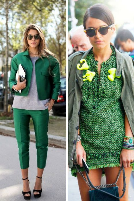 Green Color Clothes For Women 2018 (14)