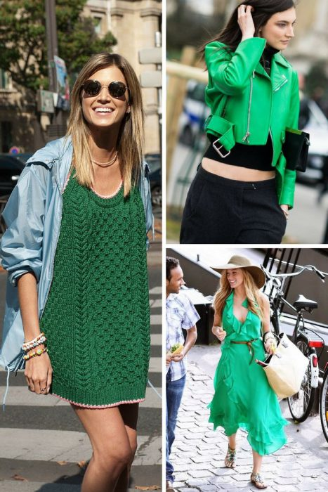 Green Color Clothes For Women 2018 (15)
