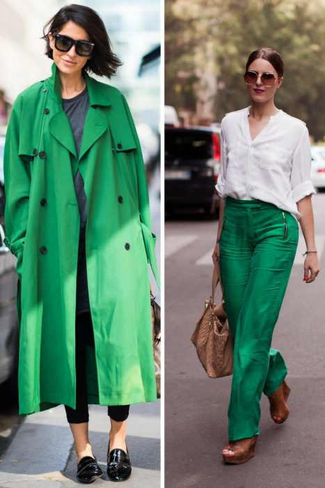 Green Color Clothes For Women 2018 (2)