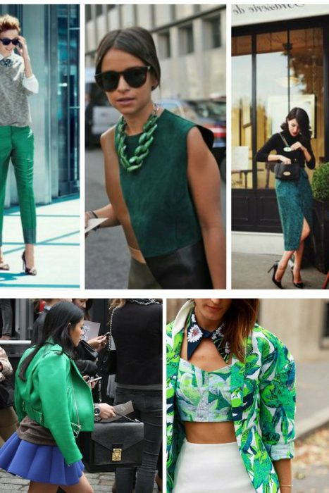 Green Color Clothes For Women 2018 (3)