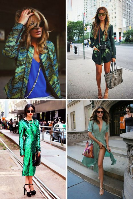 Green Color Clothes For Women 2018 (5)