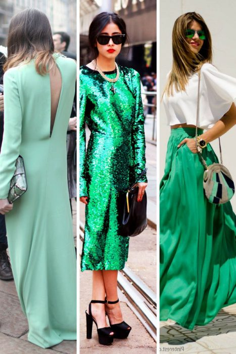 Green Color Clothes For Women 2018 (6)