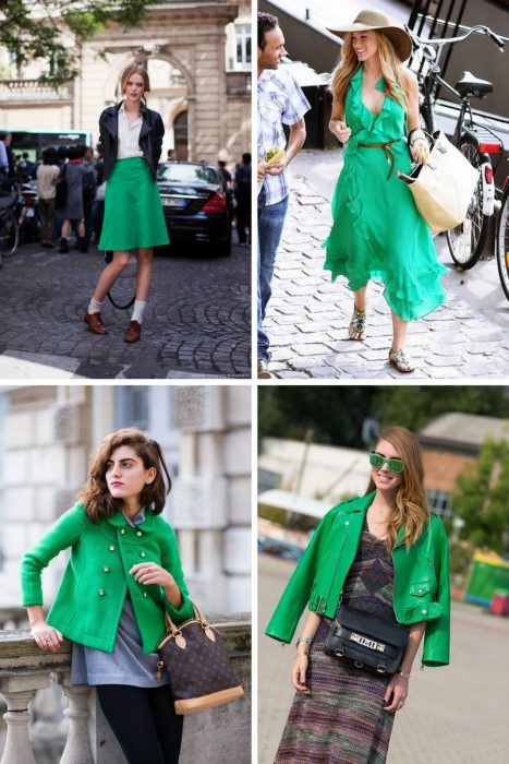 Green Color Clothes For Women 2018 (7)