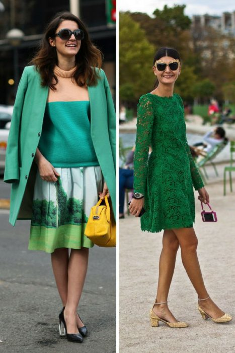 Green Color Clothes For Women 2018 (9)