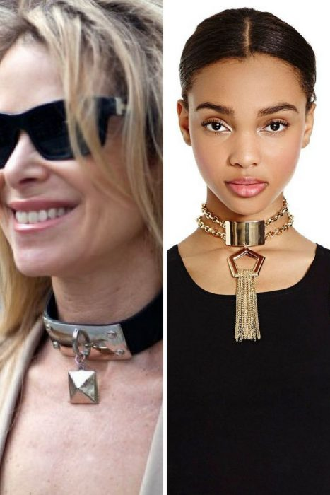 How To Wear Chokers 2018 (1)