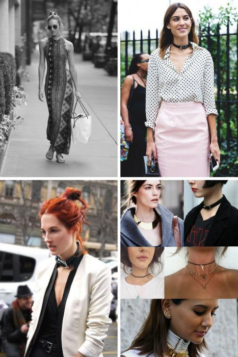 How To Wear Chokers 2018 (8)
