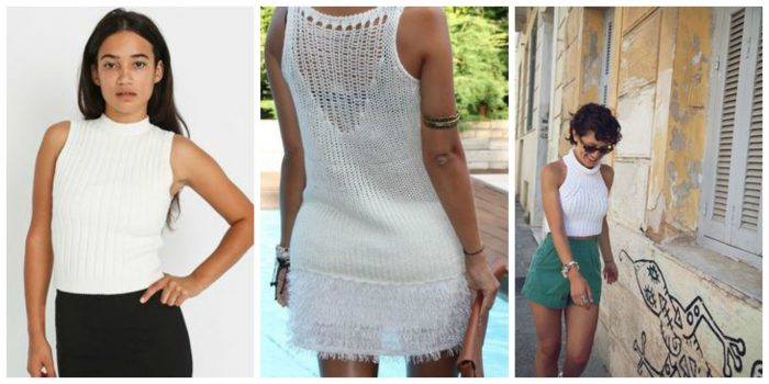 Knitted And Crochet Tops For Women 2019