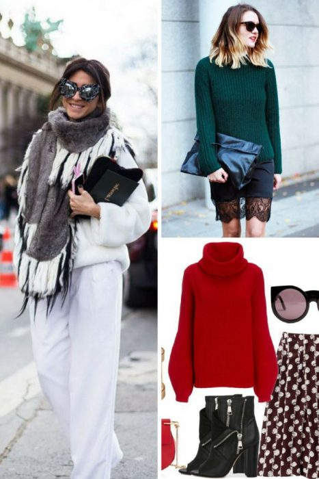 Knits And Silk Is Ideal Combination For Women 2019