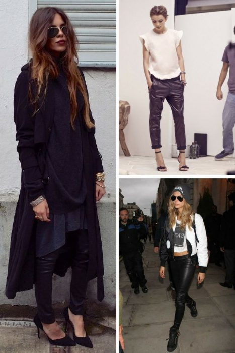How To Wear Leather Pants For Women 2019