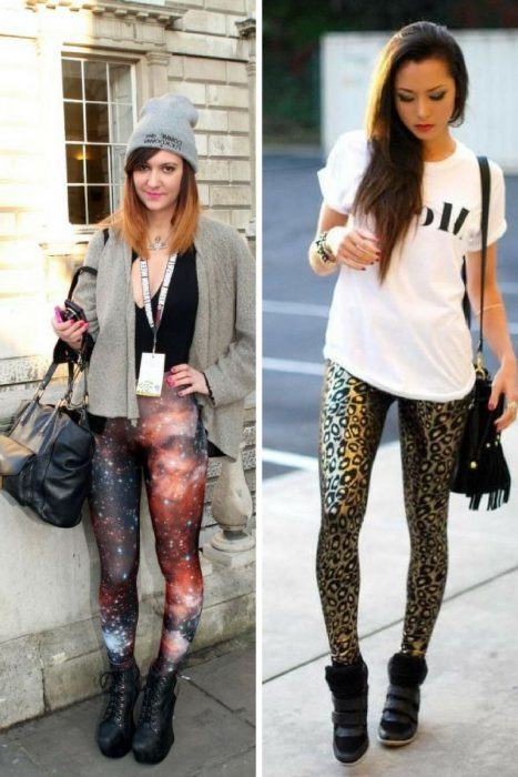 Leggings Street Style Ideas 2018 (1)