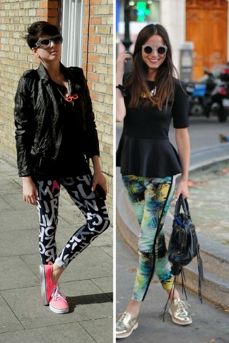 Leggings Street Style Ideas 2018 (10)