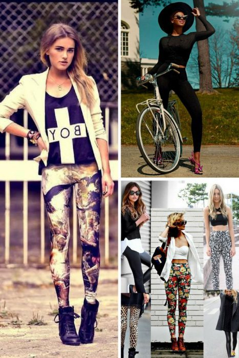 Leggings Street Style Ideas 2018 (11)