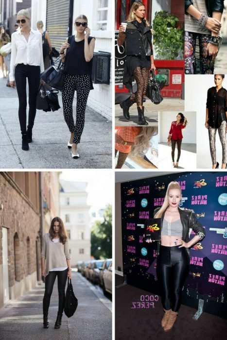 Leggings Street Style Ideas 2018 (9)