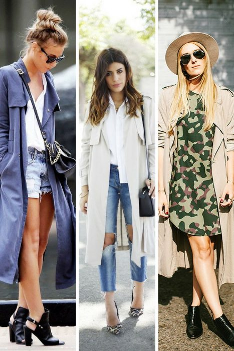 Surprising Ways To Wear Lightweight Trench Coats 2019