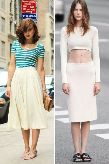 how to wear midi skirts and look at your best