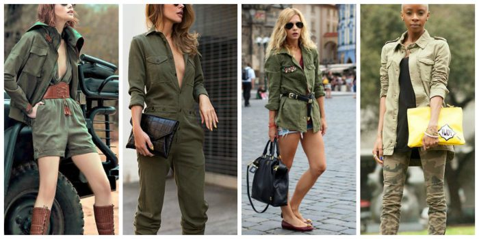Military Fashion Trend For Women 2018 (15)