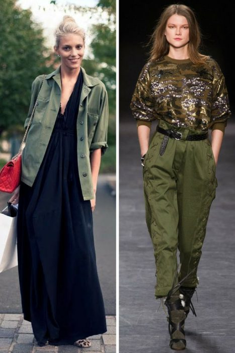 Military Fashion Trend For Women 2018 (2)