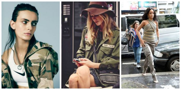 Military Fashion Trend For Women 2018 (23)