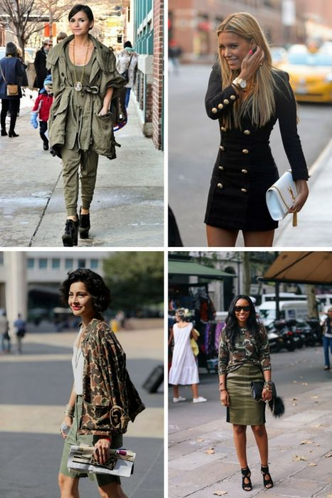 Military Fashion Trend For Women 2018 (5)