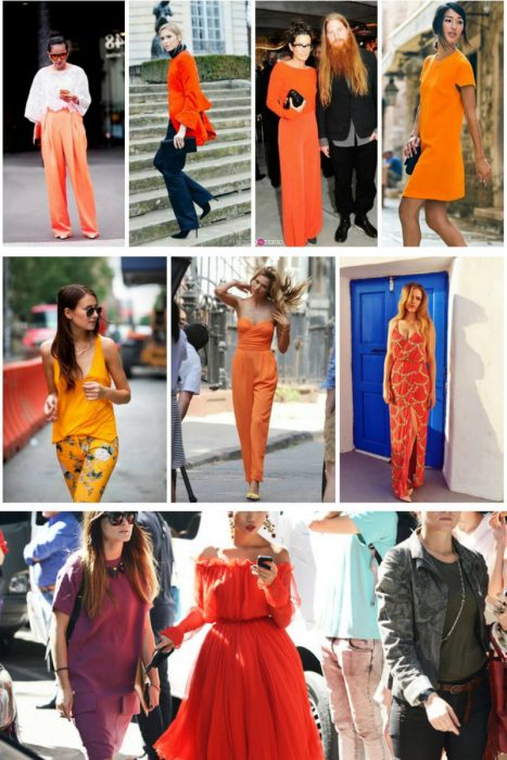 Orange Color In Clothes For Women 2018 (10)