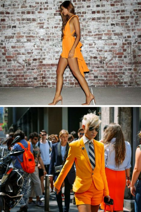 Orange Color In Clothes For Women 2018 (2)